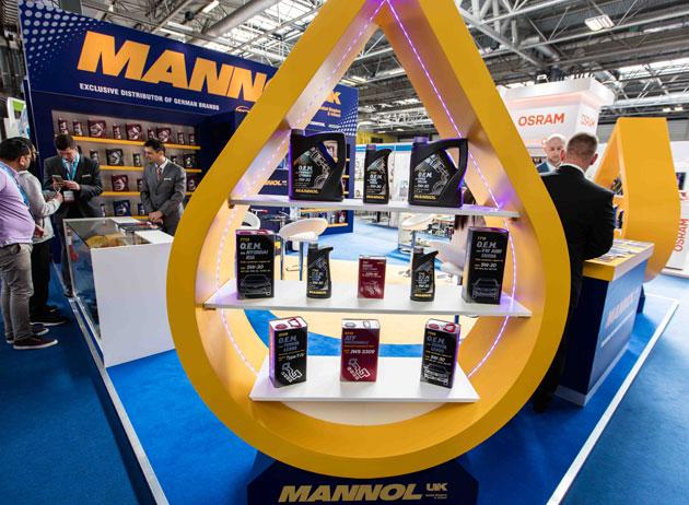 MANNOL-UK-stand,-B'ham-Automechanika