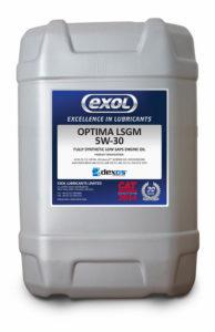 Exol lance l'huile synthétique Optima LSGM 5W-30 dexos2. dans - - - Actualité lubrifiants automobiles Optima-LSGM-20L-Drum.web_-194x300